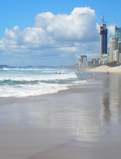 Main Beach the Spit Surfers Paradise