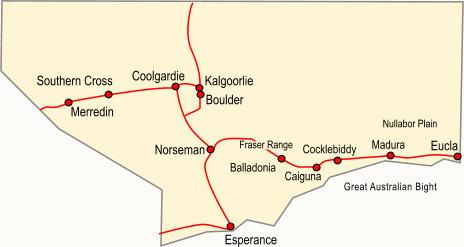 Australia Map Kalgoorlie.Pilbara And Kimberleys Western Australia Regional Guide