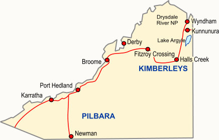 Pilbara and Kimberleys Regional Guide